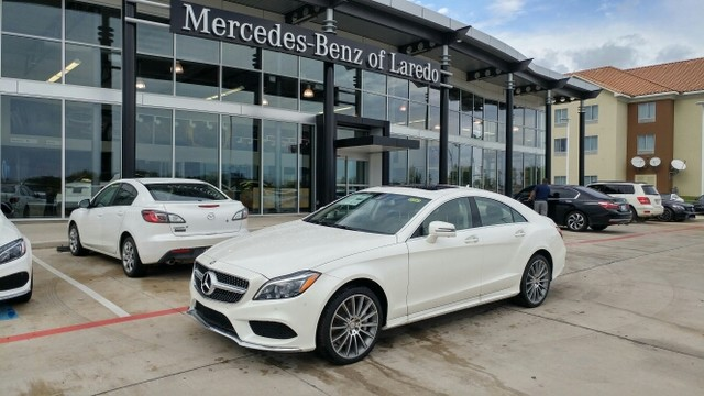 New 2017 mercedes benz cls cls 550 coupe in laredo m17041 for 2017 mercedes benz cls class msrp